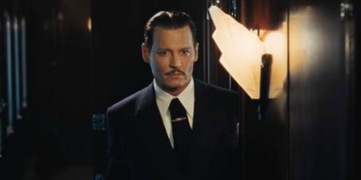 Johnny Depp Orient Express